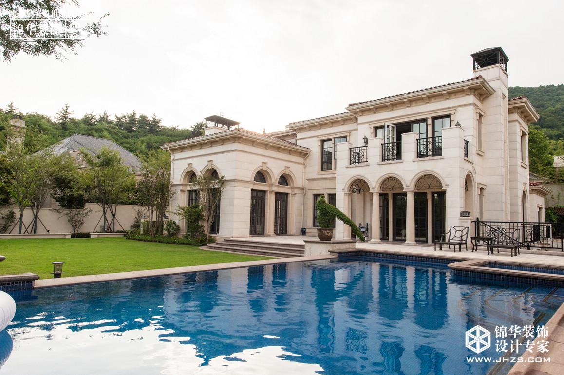 池上雨,半虹明-绿城玫瑰园装修-别墅-欧式古典