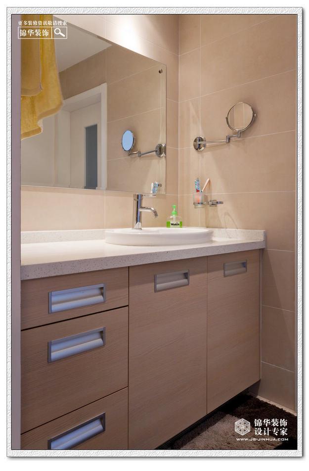 名称 洗手池 卫生间装修效果图 南京锦华装饰