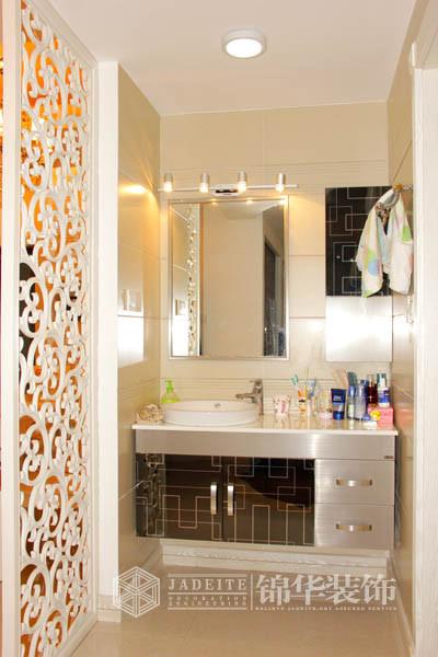 中式卫生间效果图洗手池-装修图满多   美式风格装修效果