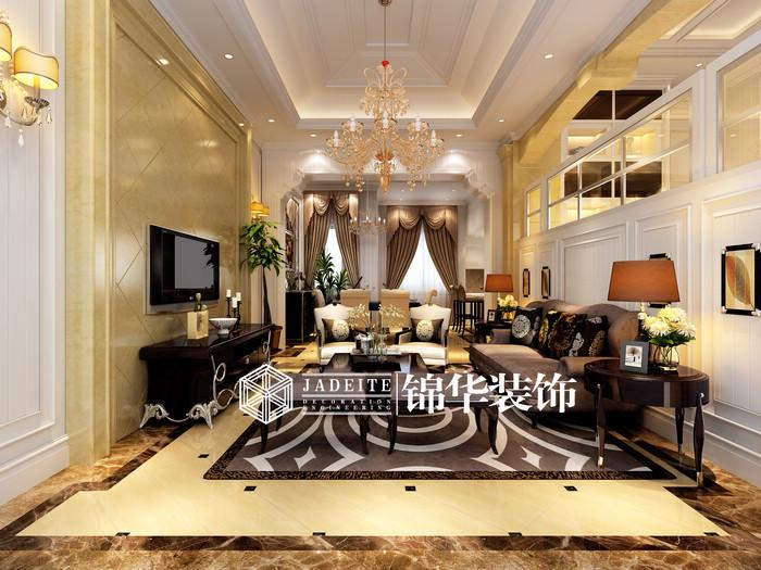 中远-欧洲城装修图片-别墅图片大全-简欧风格-扬州