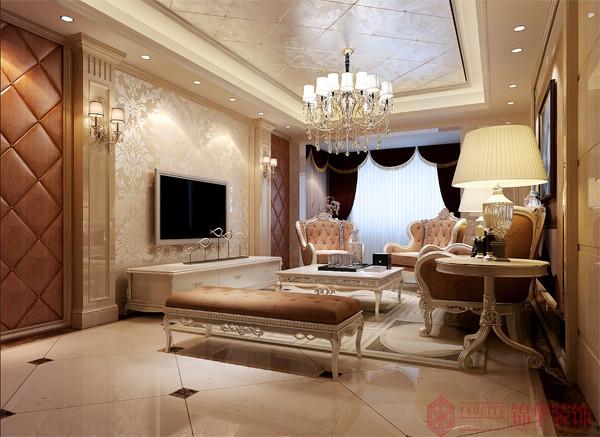 客厅装修效果图-装修图片