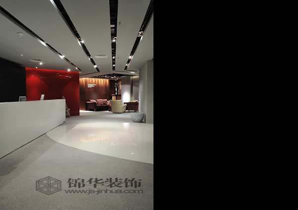 南京堂杰工作室总部办公室装修-大户型-现代简约-扬州